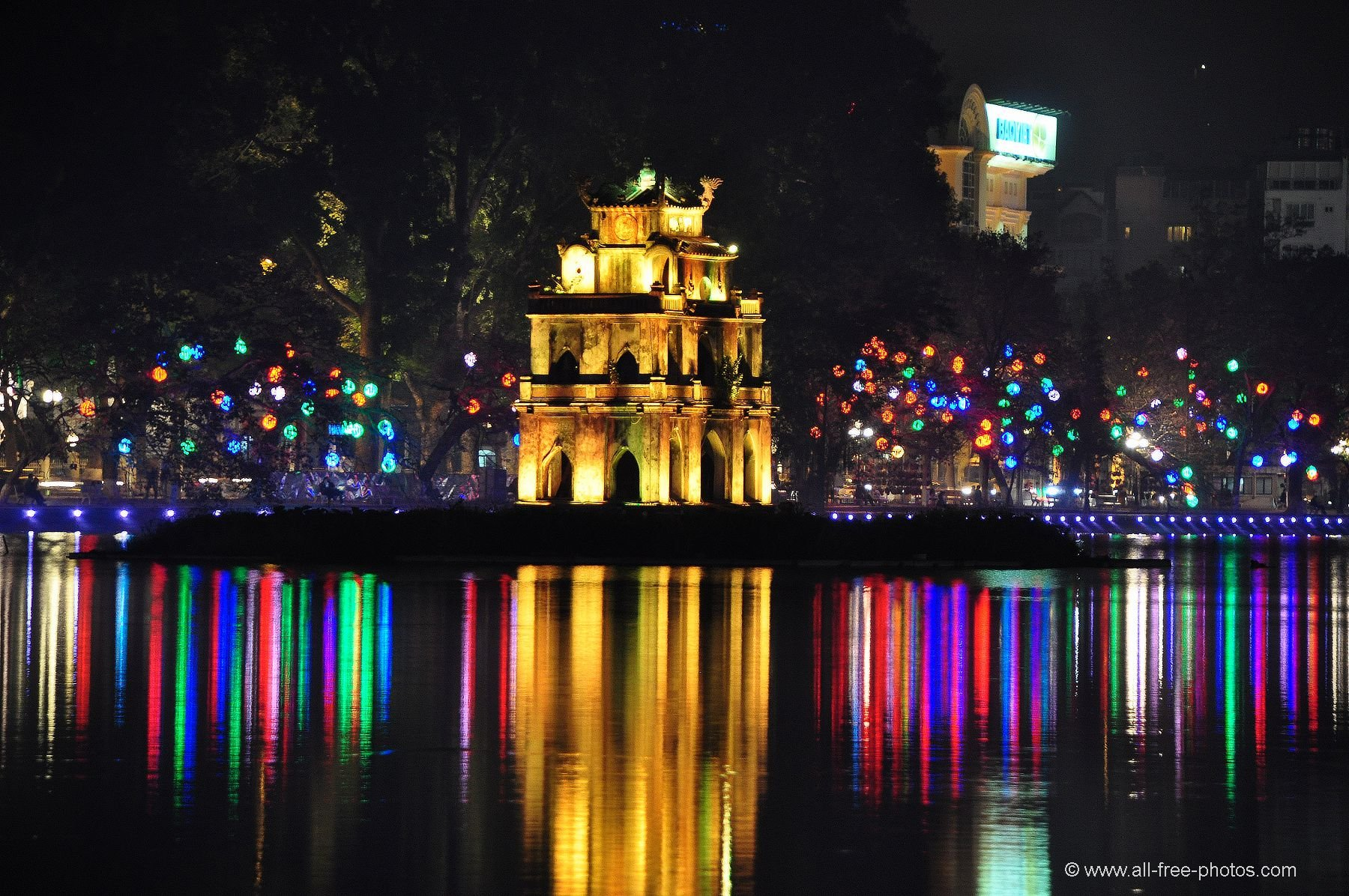 One day at Hoan Kiem Lake