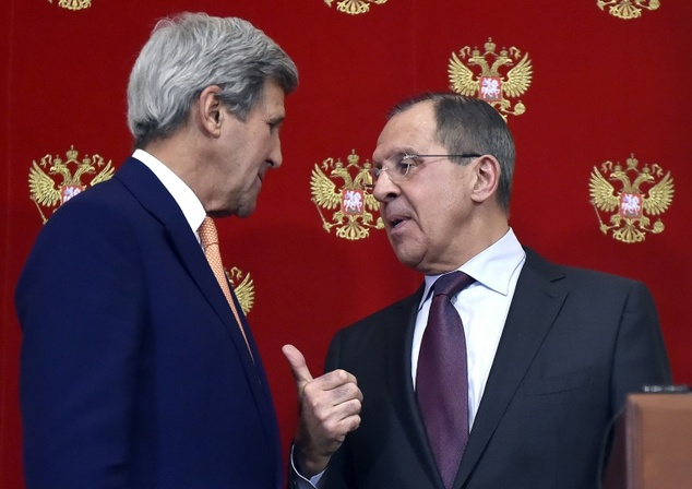 Lavrov, Kerry hold phone talks on Syria ceasefire