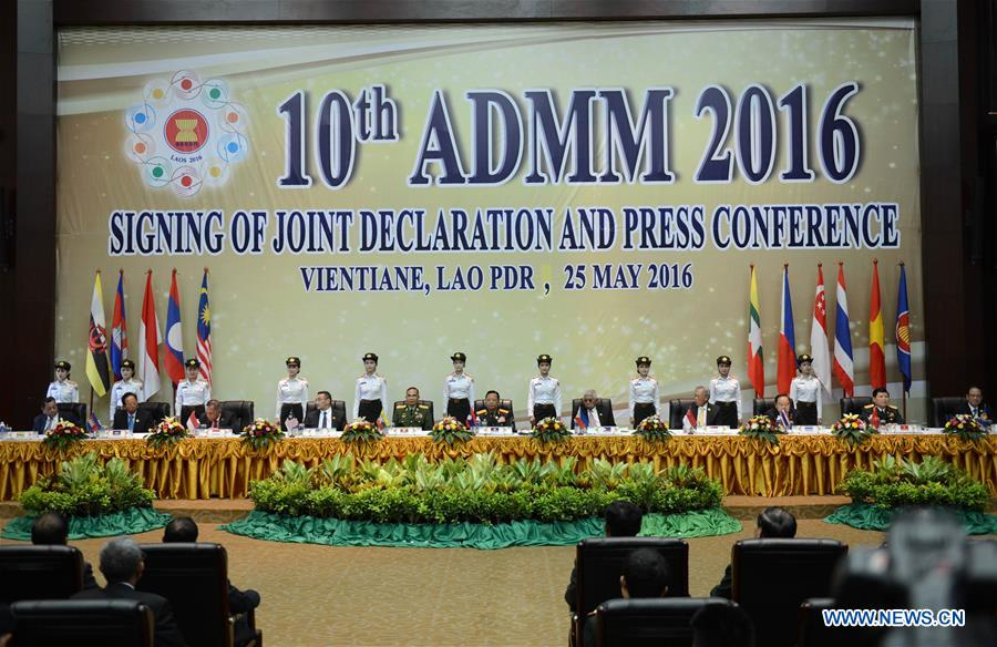 ASEAN-China Defense Ministers' Informal Meeting opens in Laos