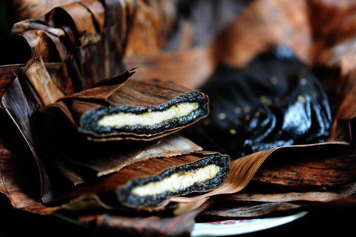 Banh Gai - Thorn Leaf Cake