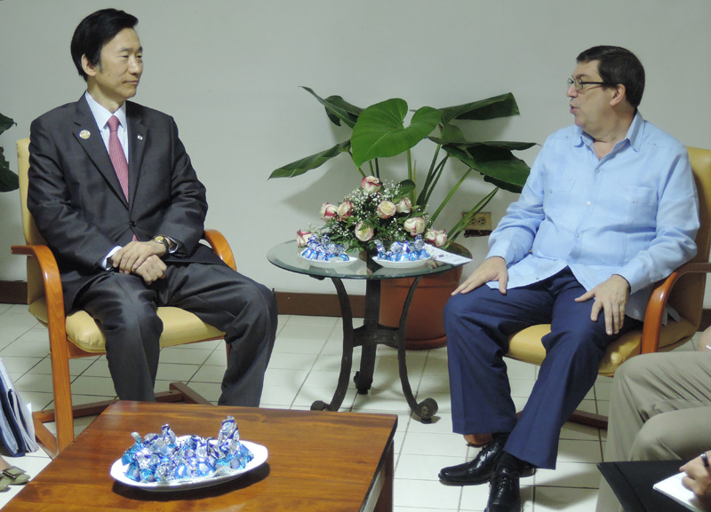 Cuba and South Korea hold first ministerial talks