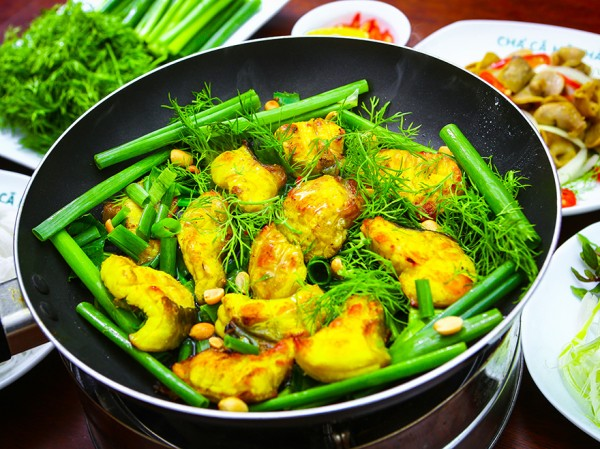 Vietnamese fish with Turmeric and Dill