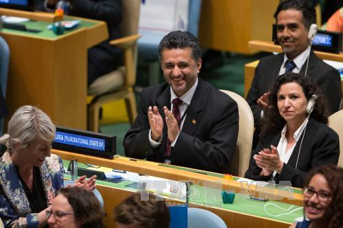 UN votes five new non-permanent members of the Security Council