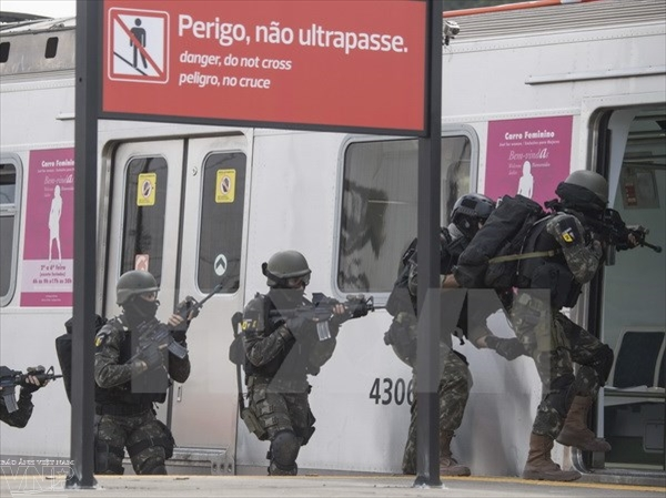 Brazil tightens airport security for Olympic Games