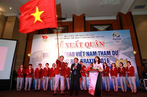 Vietnam ready for Rio Olympics 2016