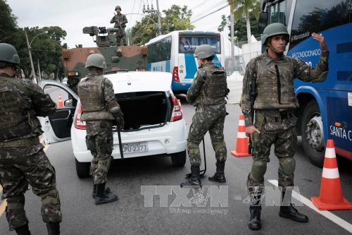 Brazil tightens its security ahead of the 2016 Olympics