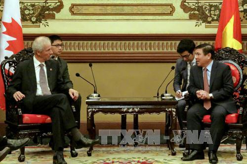 Ho Chi Minh City seeks further ties with Canadian locales
