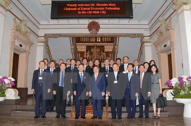 HCMC - trustworthy business destination of firms from Japan's Kansai