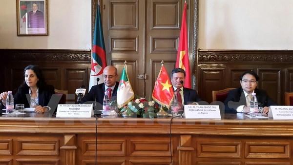 Vietnam, Algeria boost economic ties