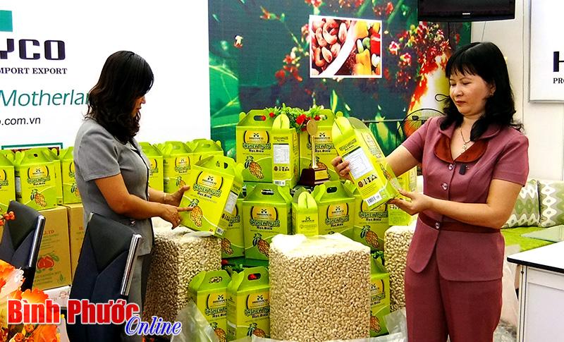 Устойчивое развитие торговой марки кешью провинции Биньфыок