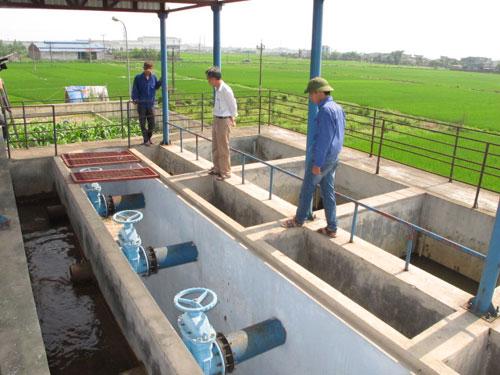Диверсификация моделей водоснабжения деревни в провинции Бакнинь