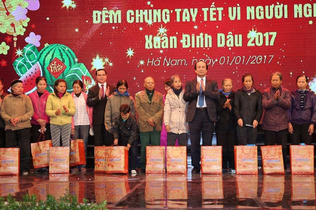 Во многих районах Вьетнама состоялись различные мероприятия в поддержку малоимущих