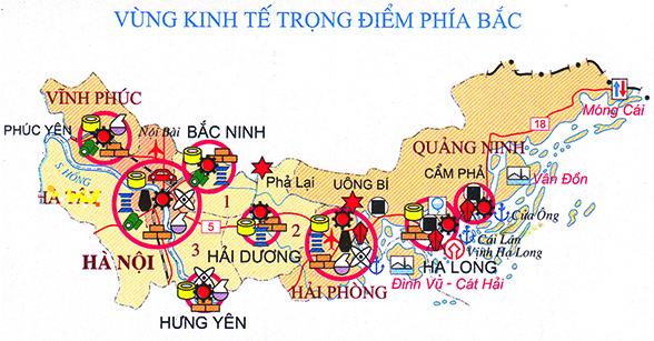 Развитие Северного ключевого экономического района Вьетнама за прошедшие 20 лет