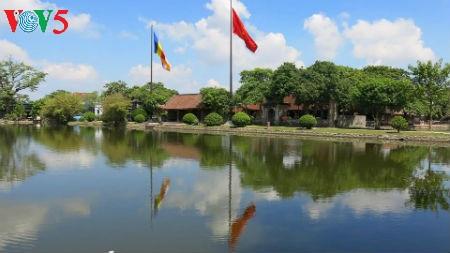 Буддийская пагода и сельская культура