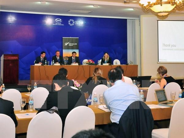 25 февраля состоялся ряд совещаний в рамках первой конференции должностных лиц АТЭС