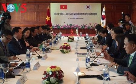 Вьетнам и Республика Корея усиливают сотрудничество в сфере экологии