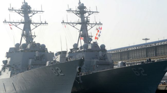 US sends USS Fitzgerald to the Korean peninsula
