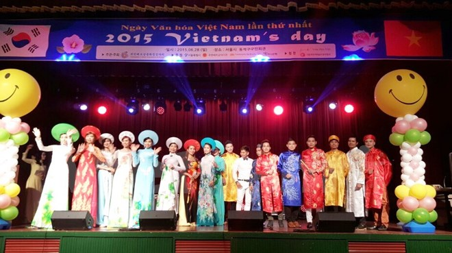 Vietnamese culture day sparks in Seoul
