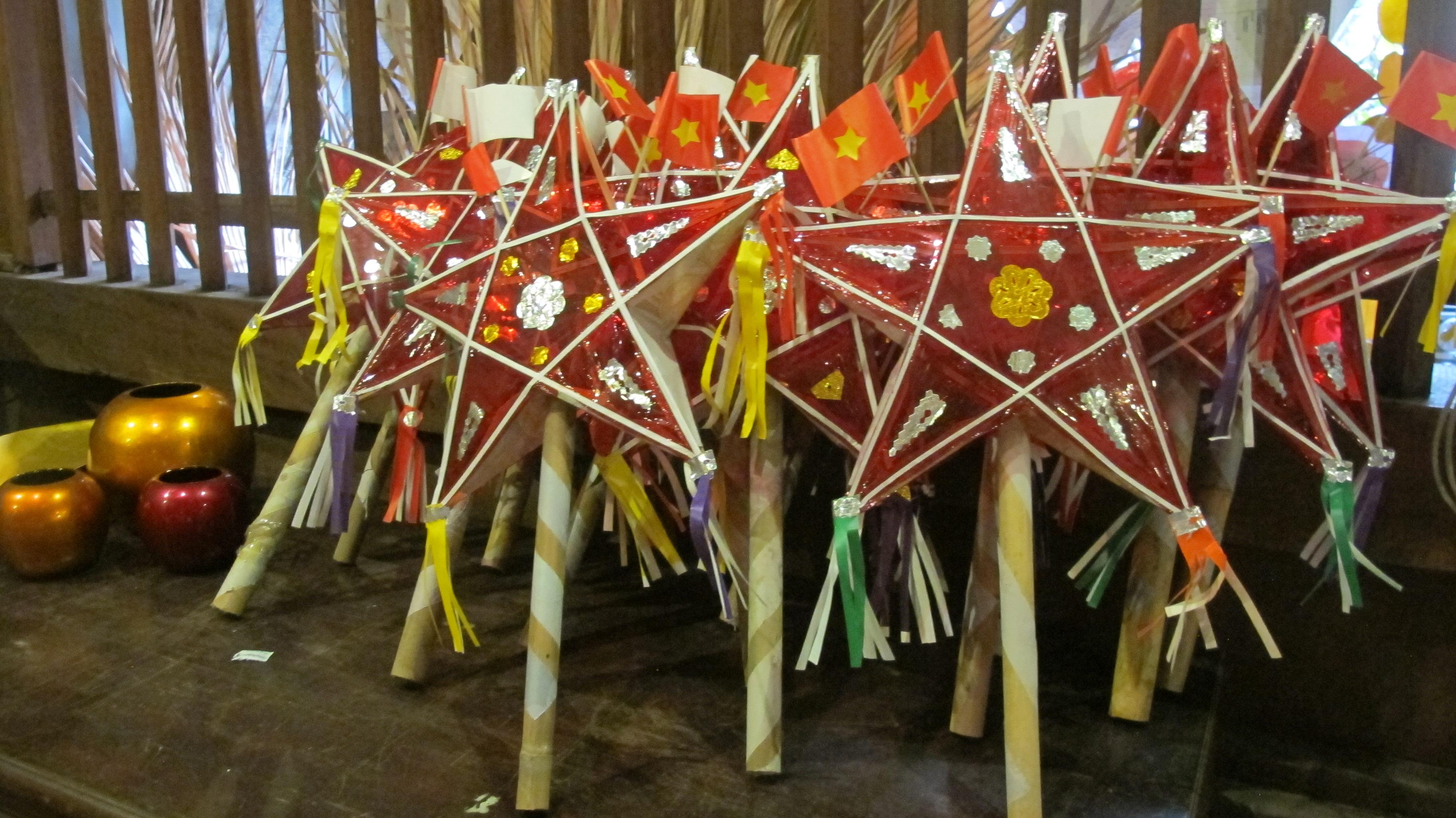 Mid Autumn festival celebration in Hanoi's Old Quarter