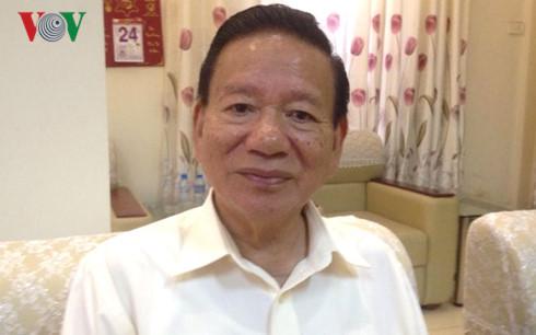 Đinh Quang Bào,  citoyen d'élite de la capitale