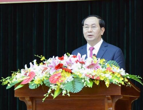 Tran Dai Quang travaille avec la 7ème zone militaire et la police de HoChiminh-ville