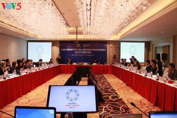 APEC 2017: les délégués débattent des procédures douanières et des finances