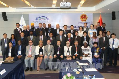 Des parlementaires francophones à Ho Chi Minh-ville