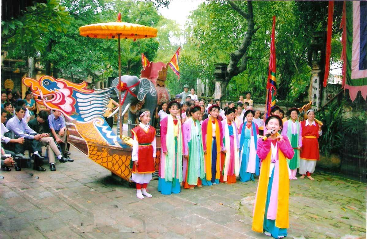 Danses traditionnelles vietnamiennes