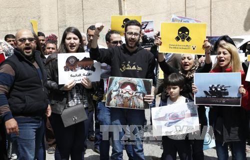 Syrie : le monde divisé sur l'intervention américaine