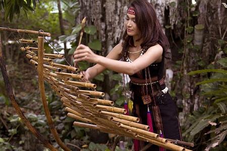 Les instruments de musique en bambou du Vietnam