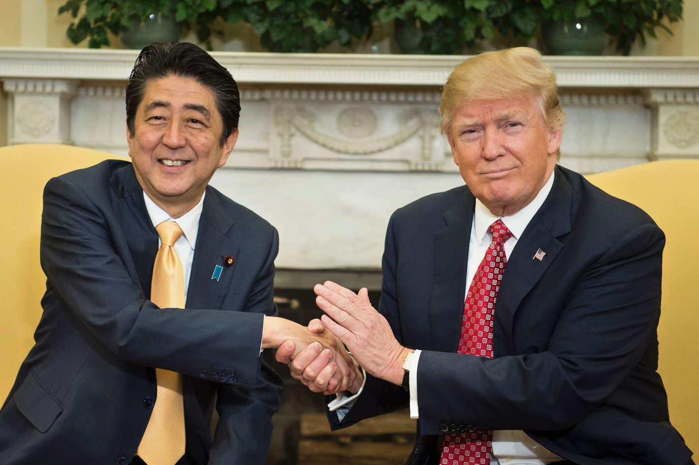 Abe et Trump restent en contact étroit au sujet de Pyongyang