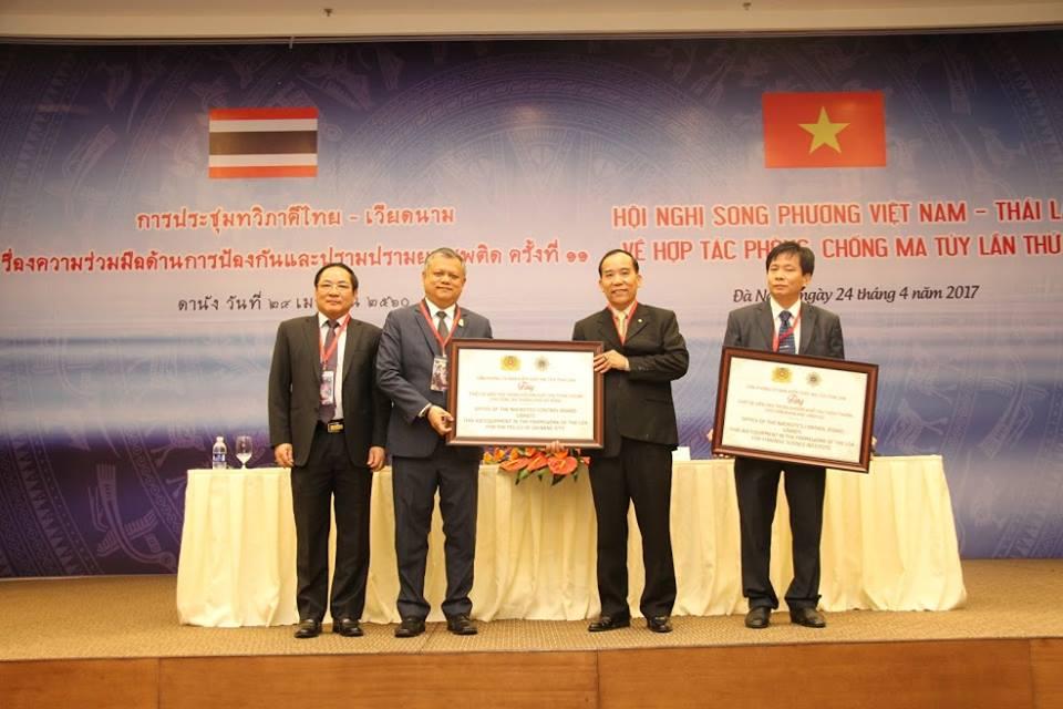 Conférence Vietnam-Thaïlande sur la coopération dans la lutte contre la drogue
