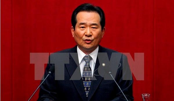 Le président de l'Assemblée nationale sud-coréenne en visite au Vietnam