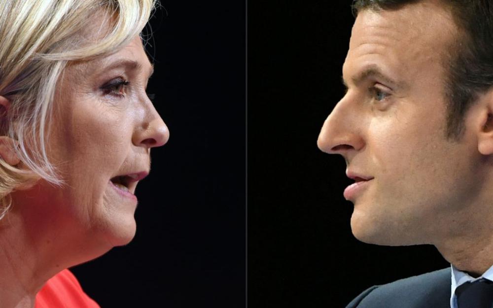 Présidentielle française: Macron et Le Pen débattront bien le 3 mai