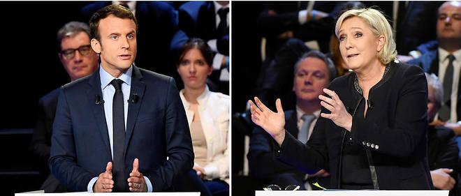 Présidentielle française : Macron et Le Pen continuent de se rendre coup pour coup
