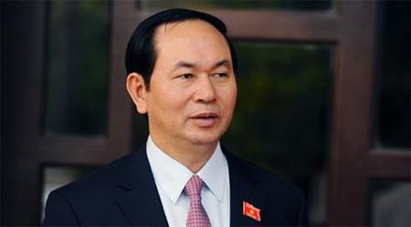 Déplacement de Tran Dai Quang à Nghe An