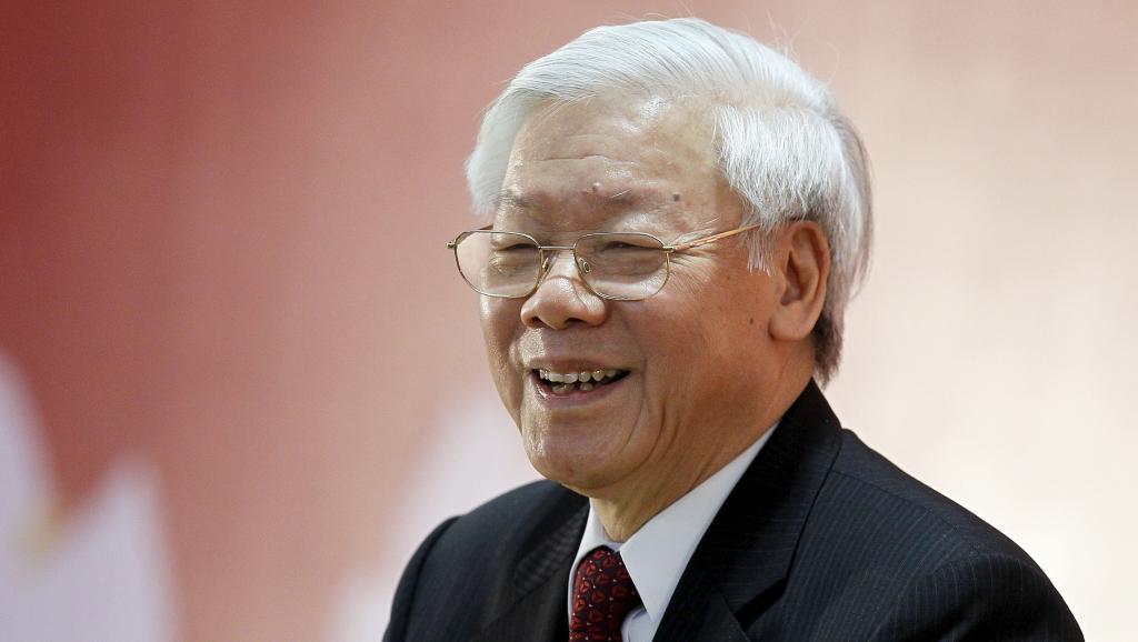 អគ្គលេខាបក្ស Nguyen Phu Trong ទទួលជួបសន្ទនាជាមួយប្រធានស្ថាប័នតំណាងការទូតបណ្ដាប្រទេសអាស៊ាន