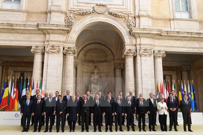 បណ្ដាថ្នាក់ដឹកនាំ EU ចុះហត្ថលេខាលើសេចក្តីថ្លែងការណ៍ទីក្រុង Rome
