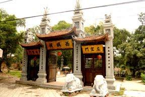 Đền Voi Phục - Trấn Tây của thành Thăng Long xưa