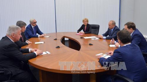 President Putin: EU sanctions benefit Russian businesses
