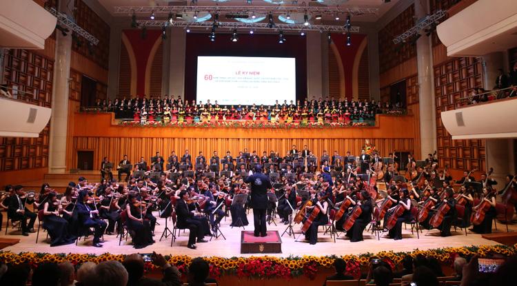 Vietnam National Academy of Music celebrates 60th anniversary