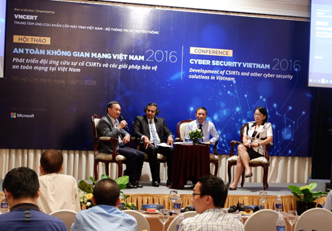 Developing a cyber security network in Vietnam