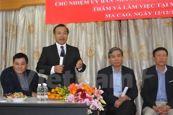 Diplomat affirms State care for Vietnamese in Macau, China