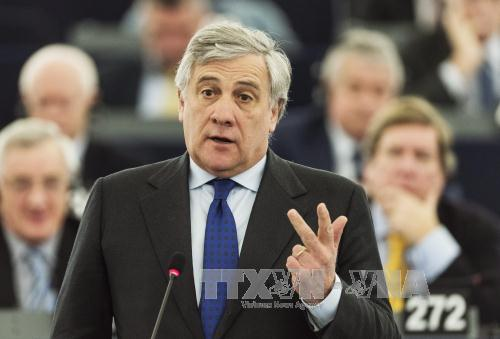 EU Parliament picks new president