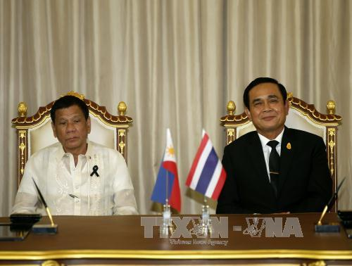 Thailand, Philippines work to maintain regional peace, stability