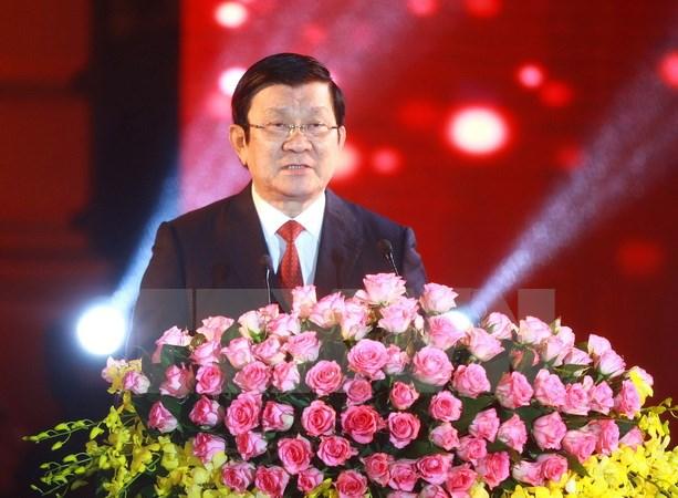 Новогоднее обращение президента СРВ Чыонг Тан Шанга