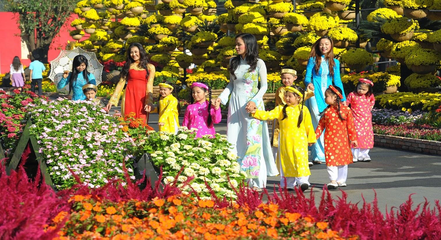 Весна пришла в каждую вьетнамскую семью