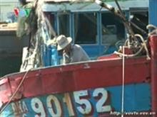 Le bateau coulé en mer Orientale a été repêché