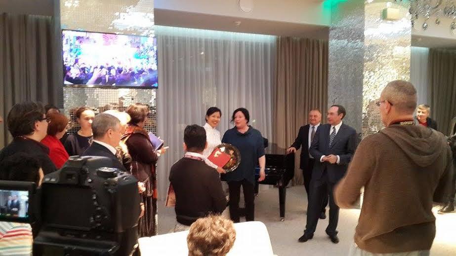 Une journaliste de VOV5 obtient le prix spécial d'un concours russe