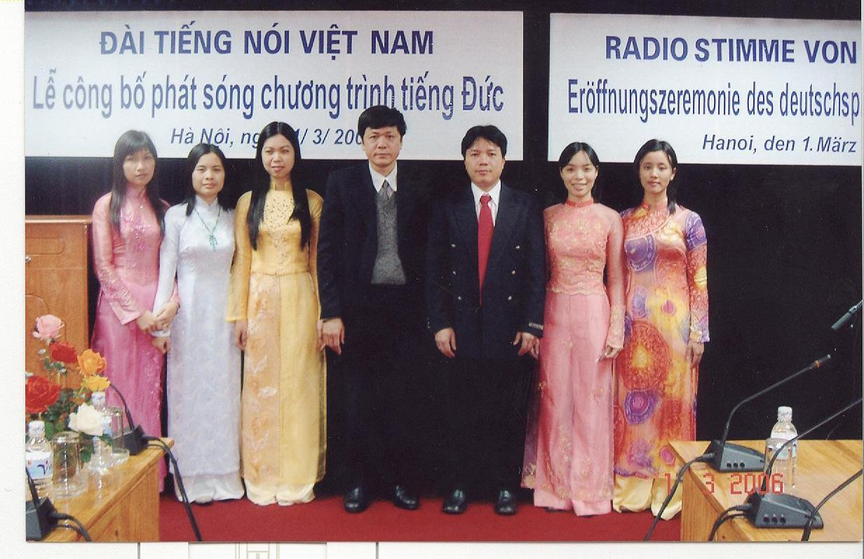 L'émission en allemand – le pont d'amitié Vietnam-Allemagne